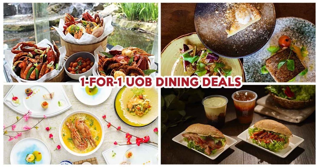 UOB 1 FOR 1 DINING DEALS