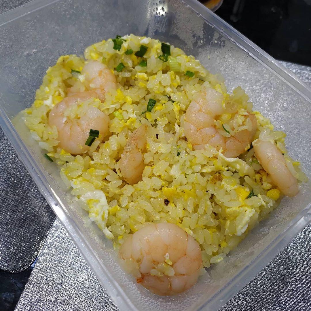 chef wang fried rice - shrimp
