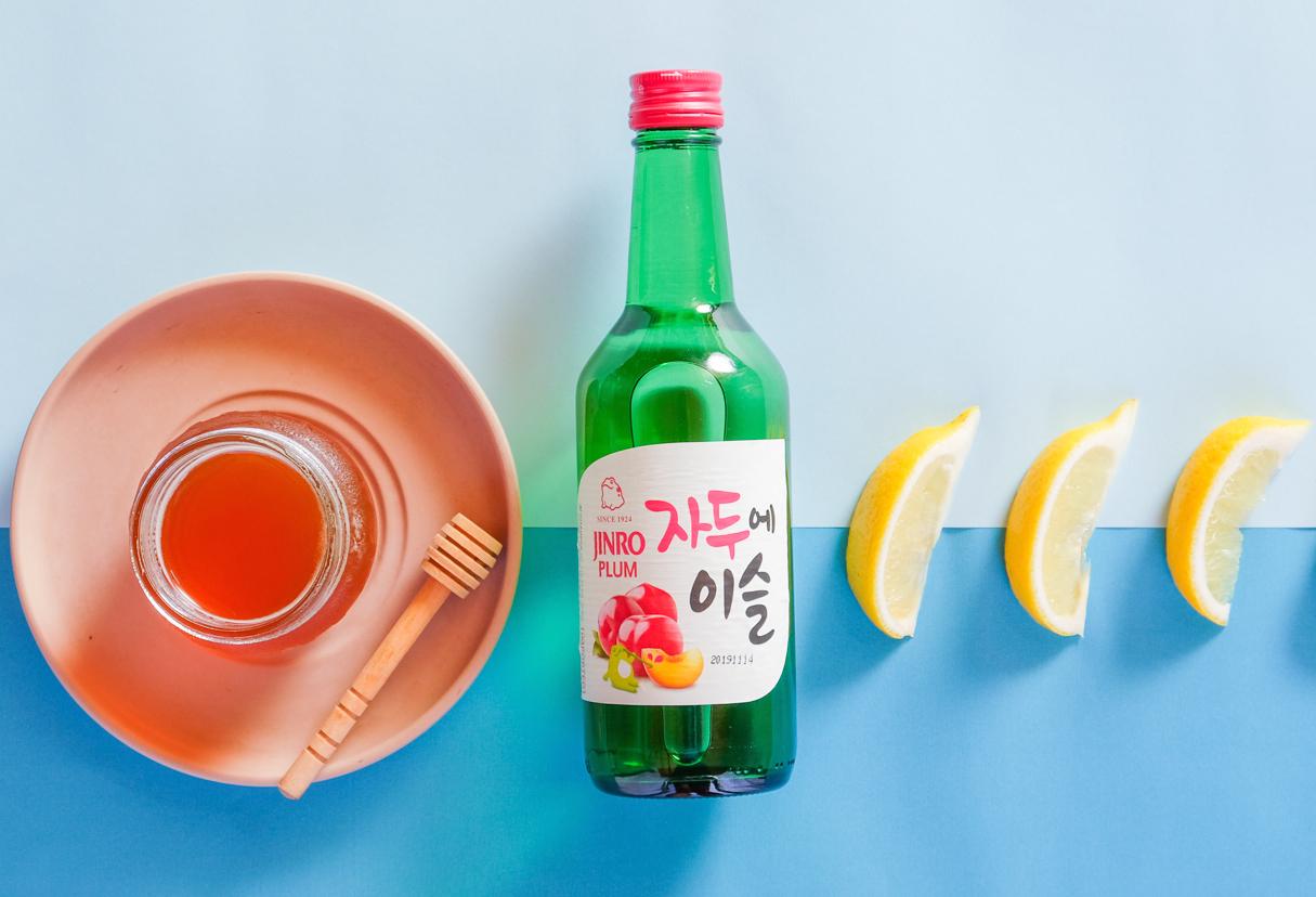 honey plum soju cocktail recipe