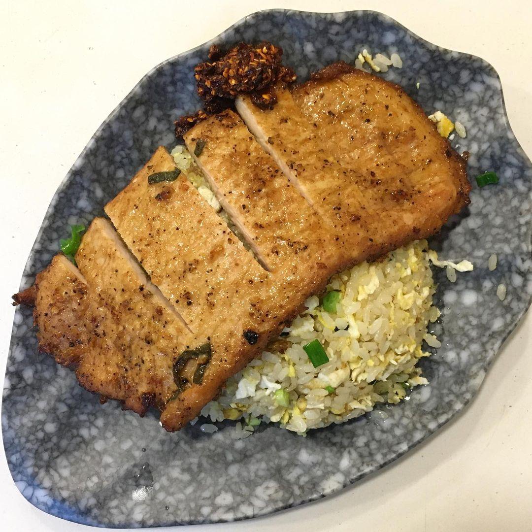 .king of fried rice - pork cutlet