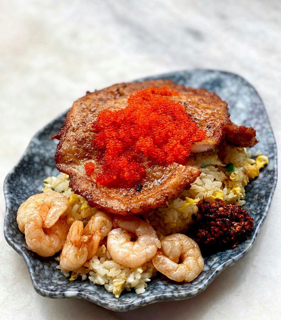 king of fried rice - tobiko