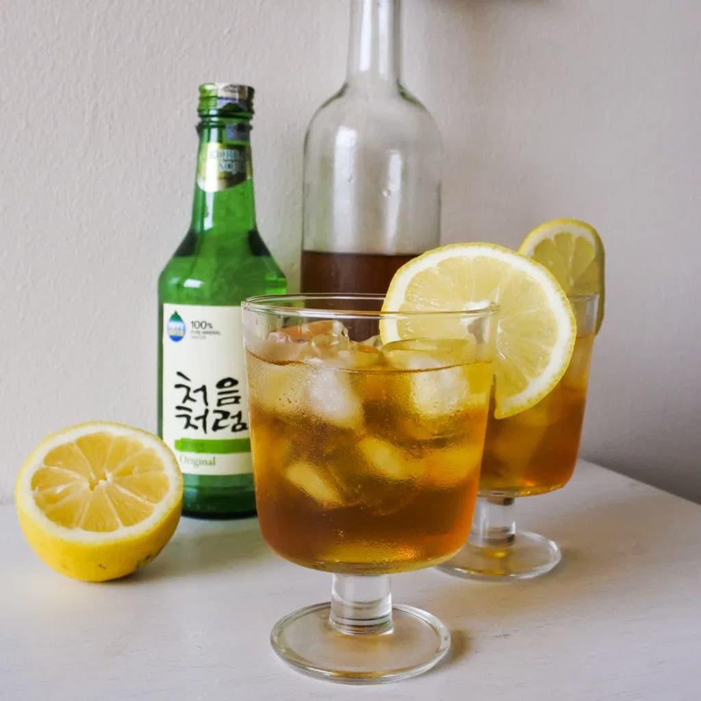 soju tea cocktail recipe