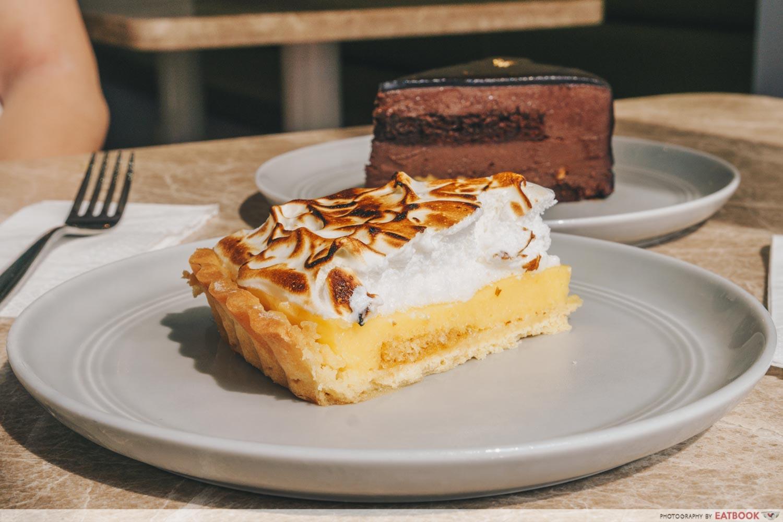 the bravery - lemon meringue pie