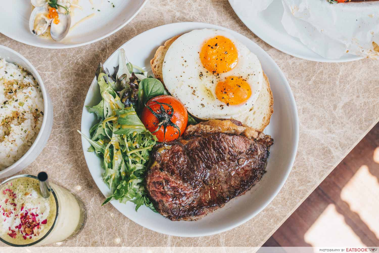 the bravery - steak