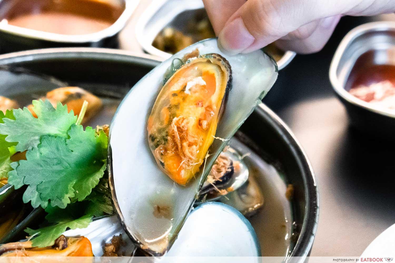 wanton seng's eating house - mussel