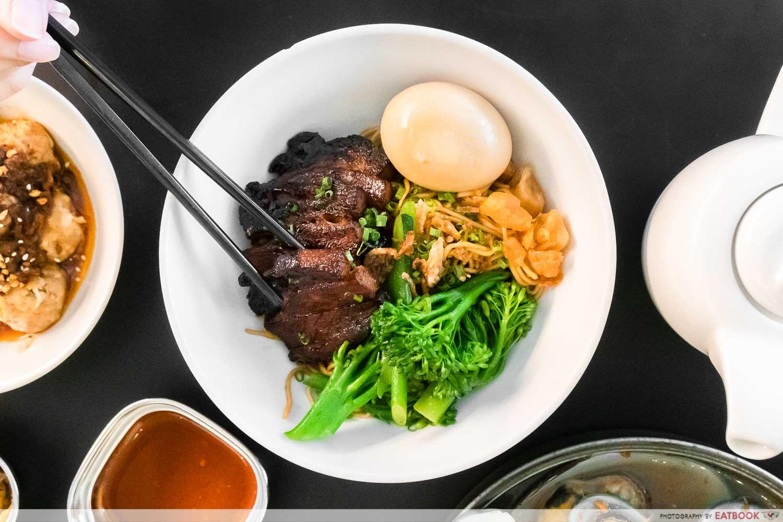 wanton seng's eating house - signature char siu noodles