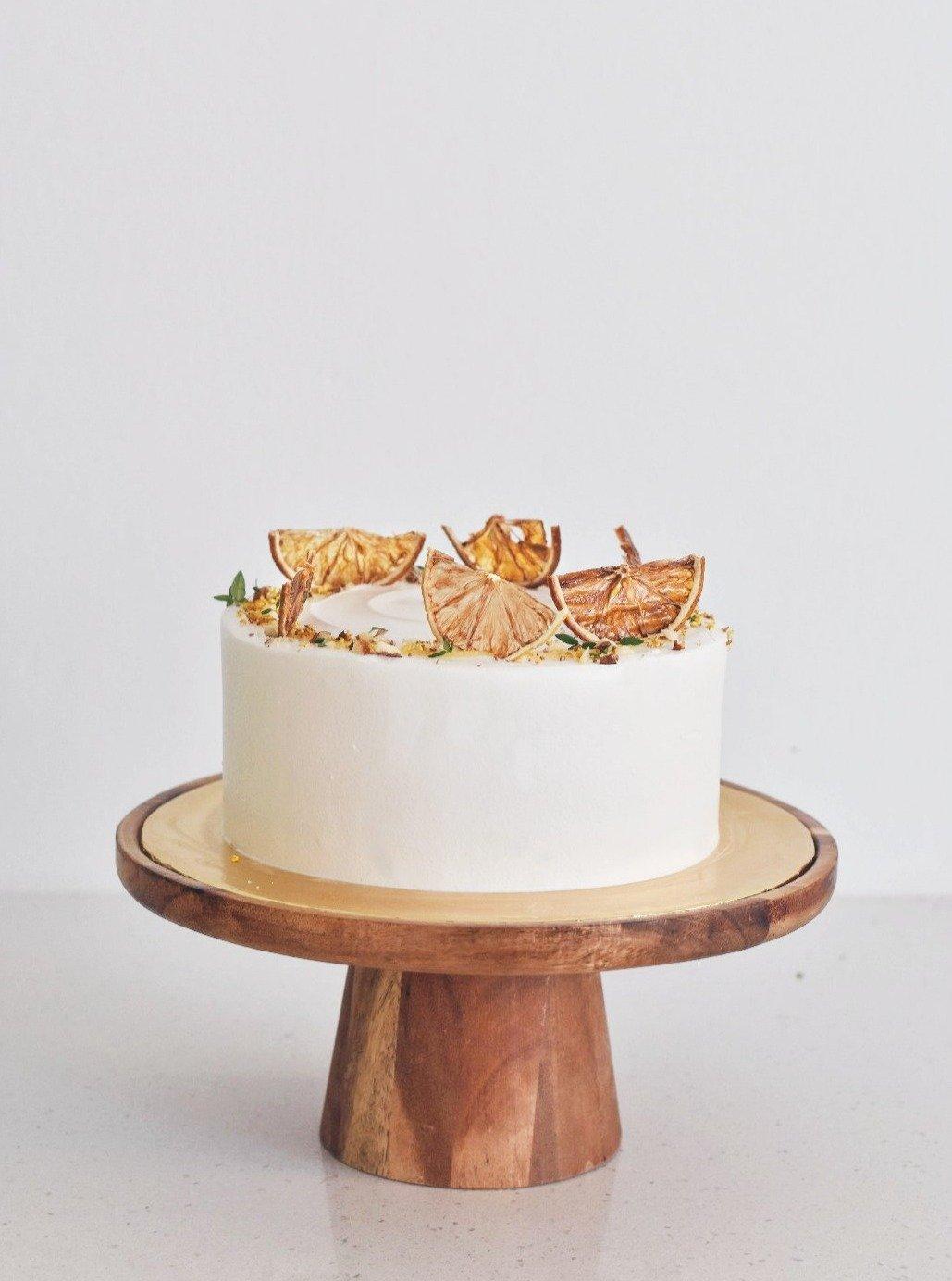 zee & elle honey yuzu cake