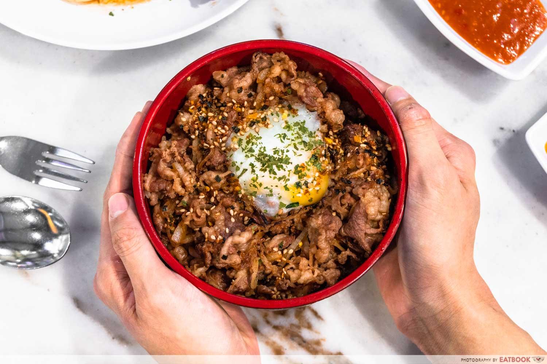 Chef Bui Bui - beef donburi
