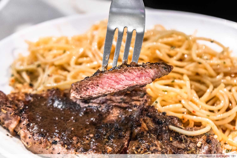 Chef Bui Bui - steak close up