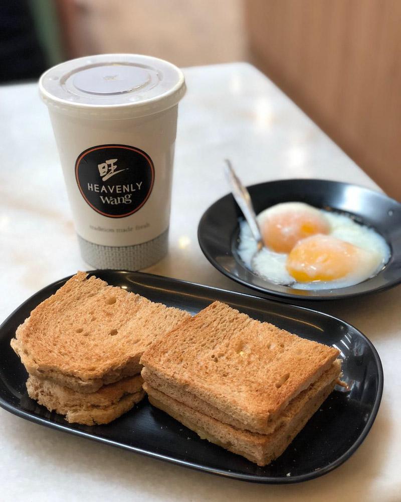 Heavenly Wang - breakfast sets
