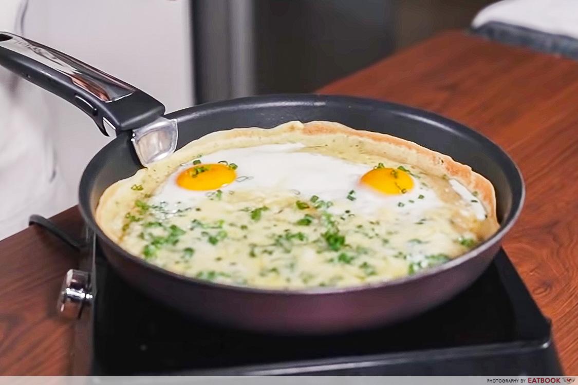 IG-worthy mjk - cheesy mjk eggs