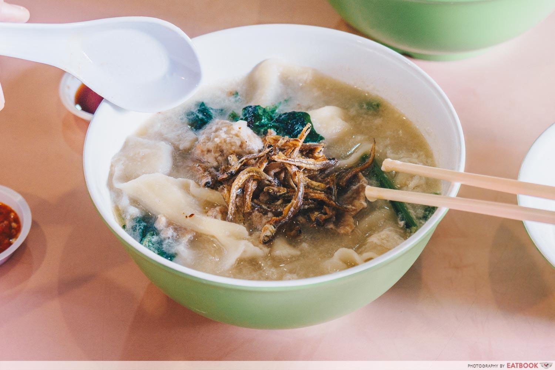 Jiak Song Mee Hoon Kueh - noodle