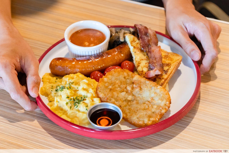 Joji's Diner - all star platter