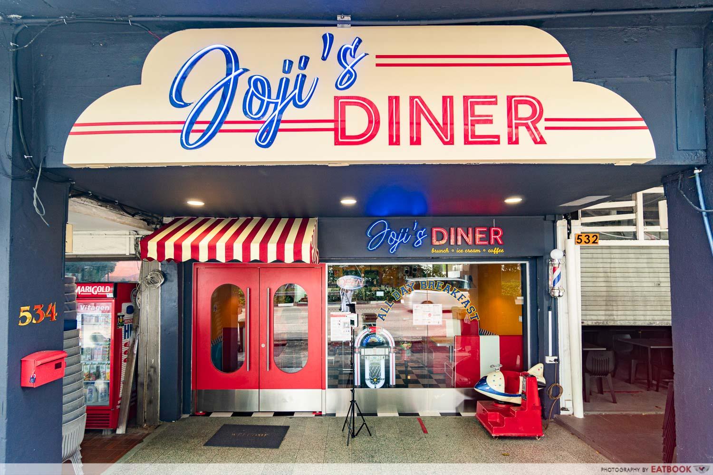 Joji's Diner - storefront new restaurants july 2021