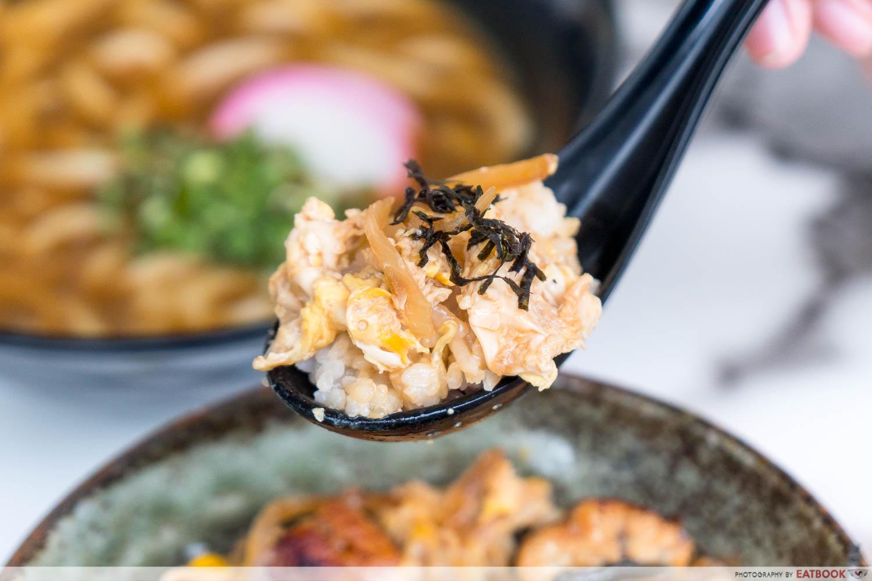 Maruhachi Donburi & Curry - una tama rice