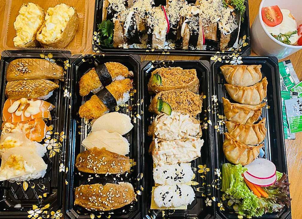 Saute Sushi - sushi