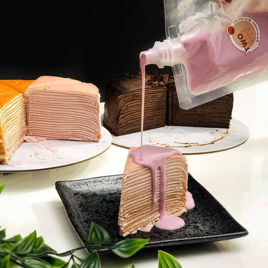 Two Bake Boys - Taro Cake