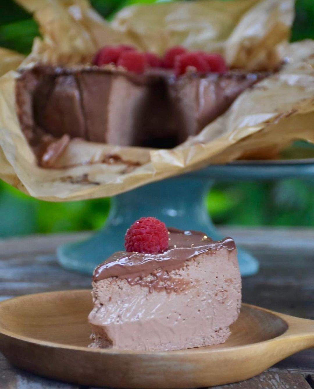 alouette valrhona chocolate burnt cheesecake