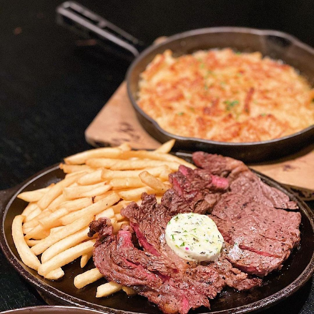 bedrock bar grill food delivery date night