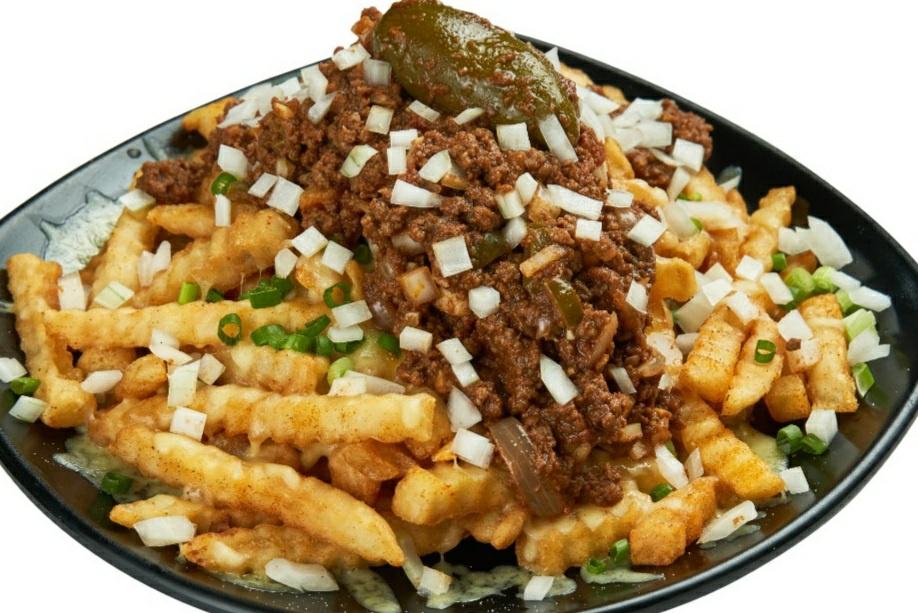 botak jones cajun chilli cheese fries