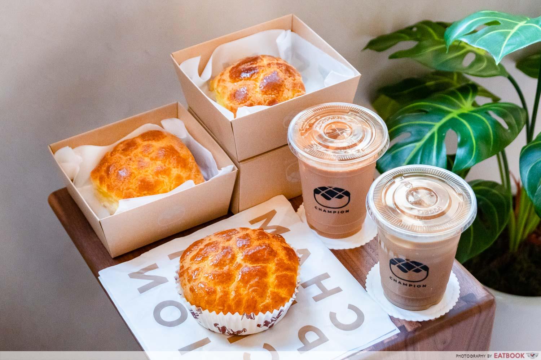 champion bolo bun - new restaurants july 2021