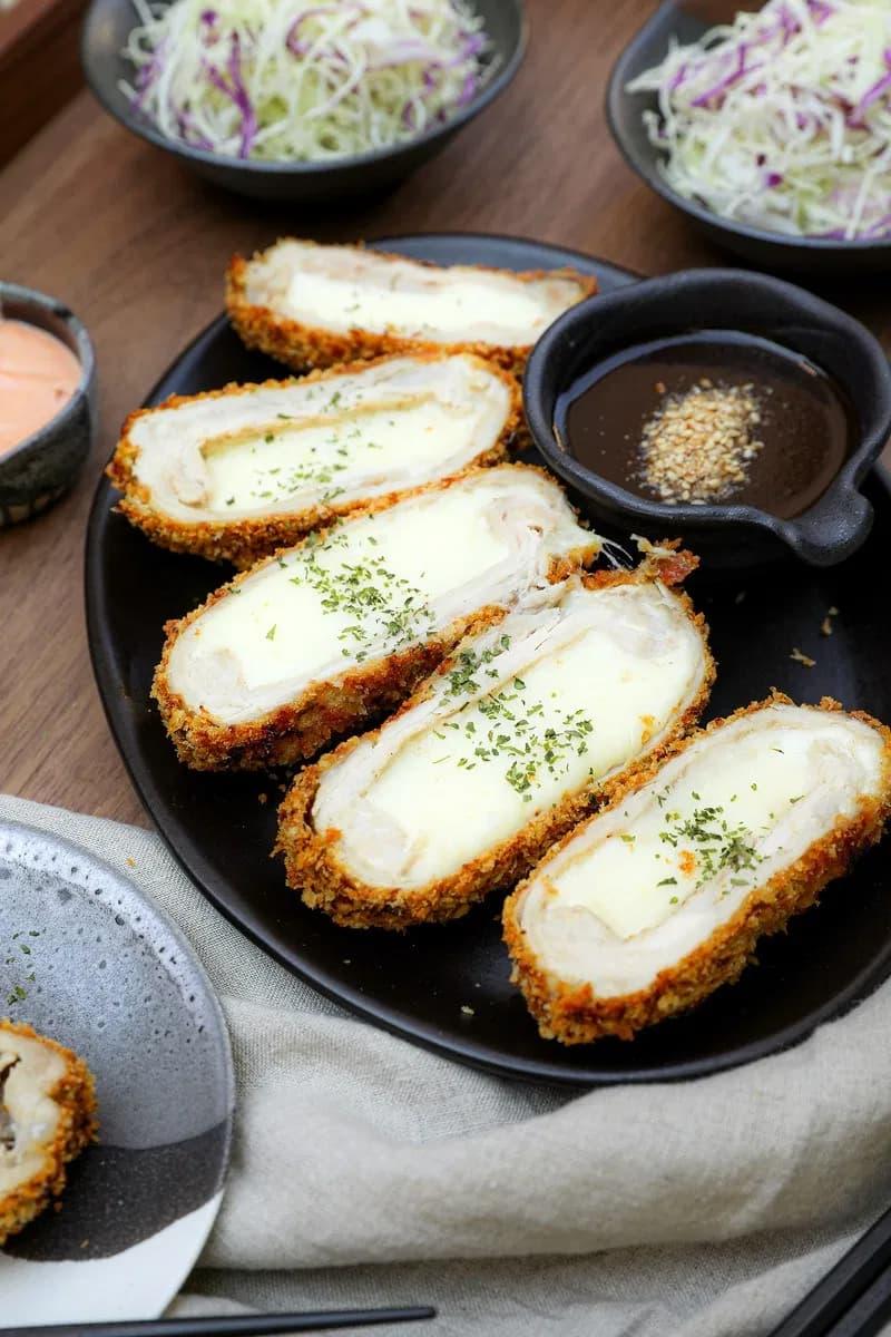 cheese chicken katsu air fryer