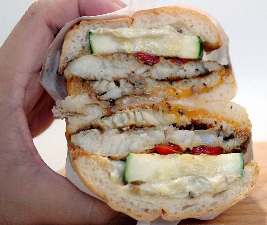 hambaobao what the fish burger