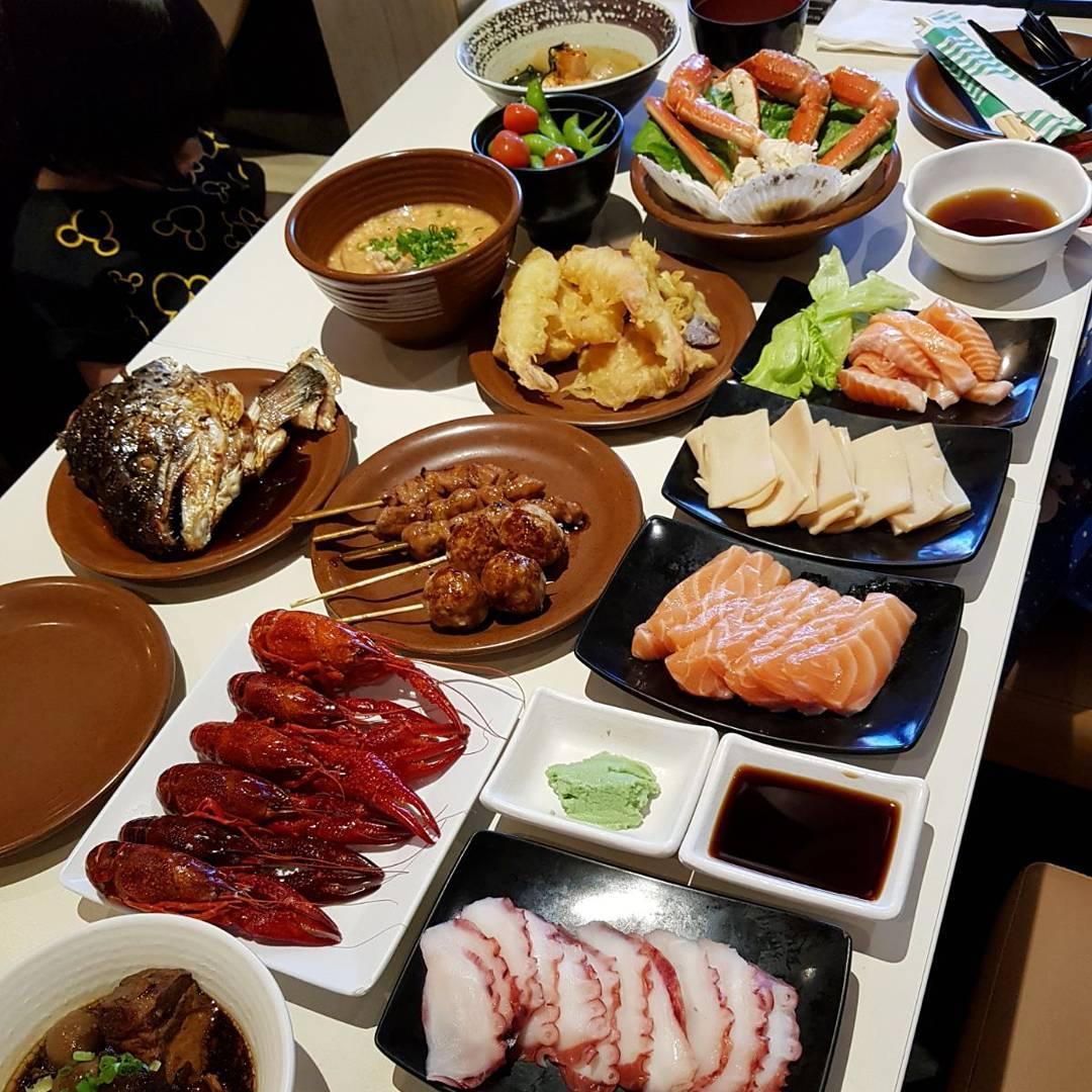 kiseki japanese buffet restaurant - flatlay 2