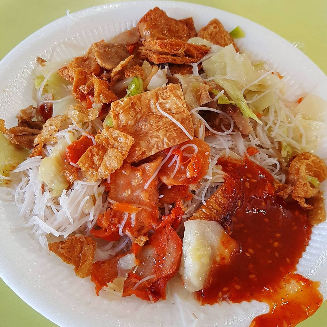 meow xiang vegetarian food - hawkers without online delivery in the east