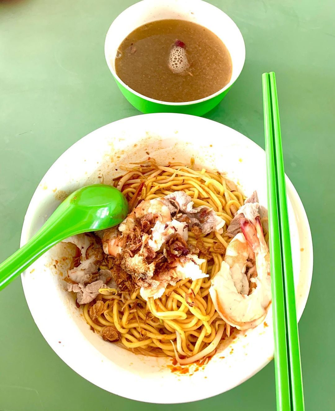 niu ji prawn noodle - hawkers without online delivery in the east