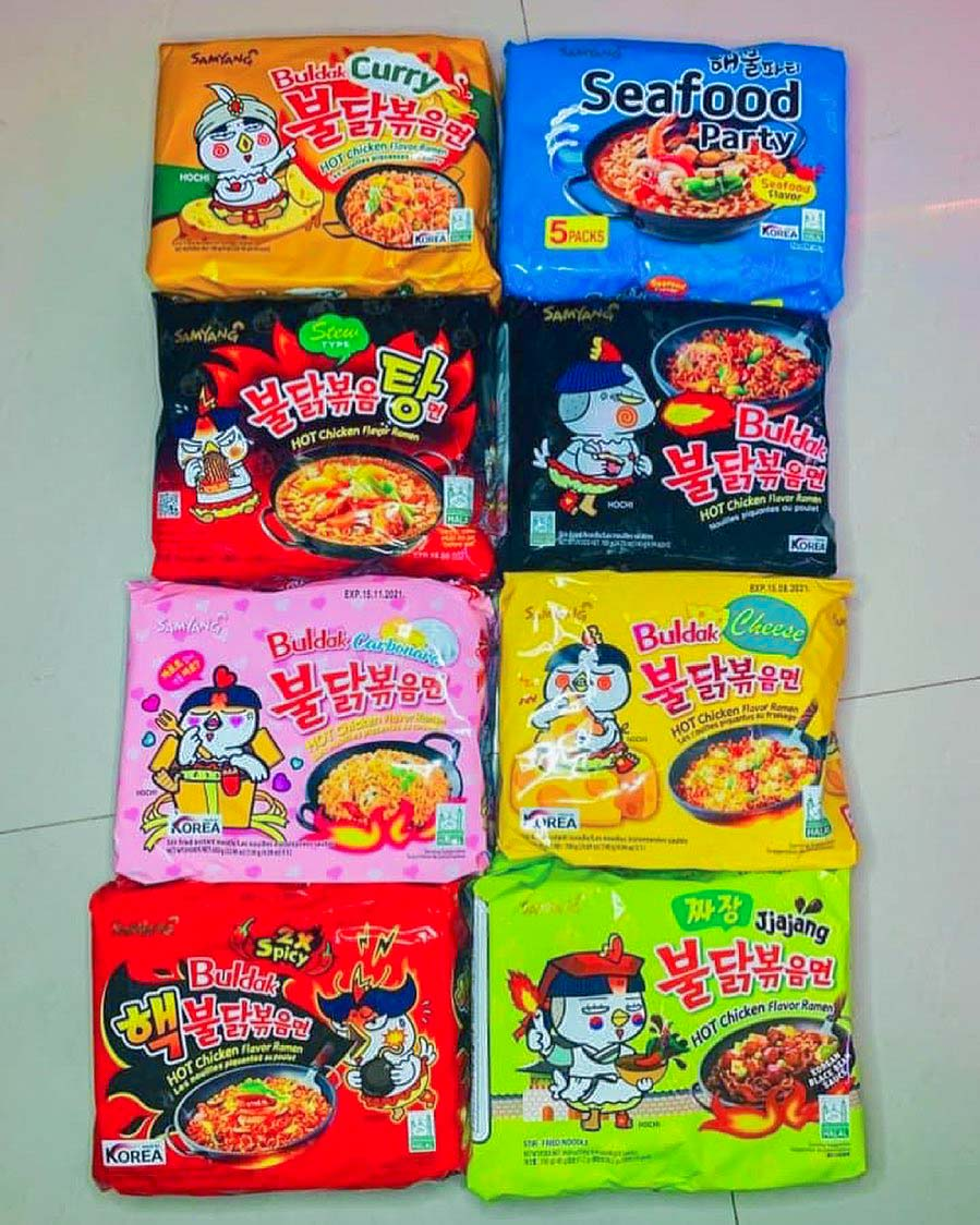 samyang four cheese - noodles