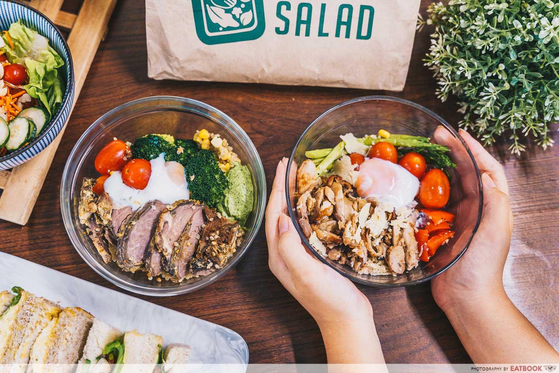 shake salad - hearty bowls