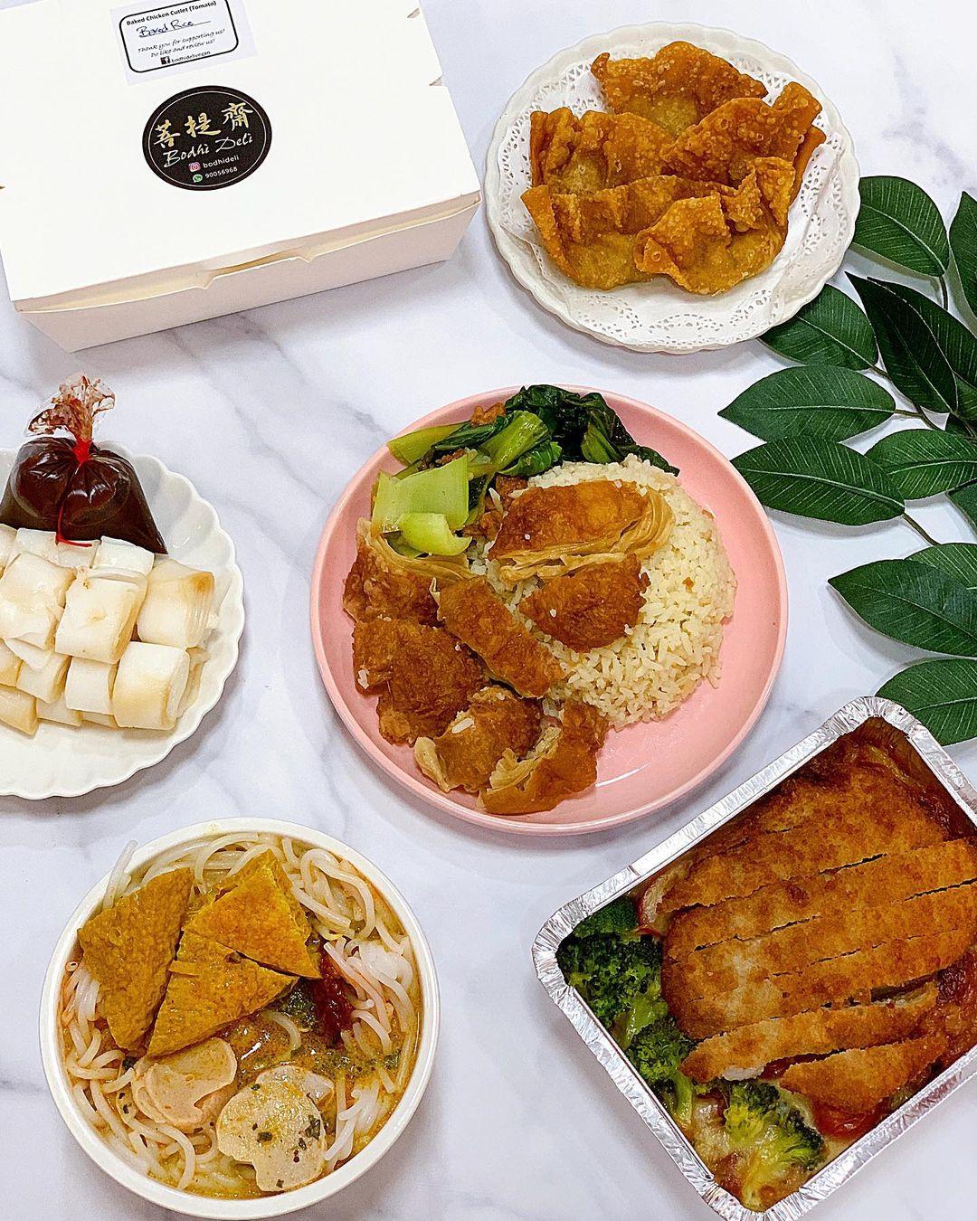 vegetarian food delivery - bodhi deli