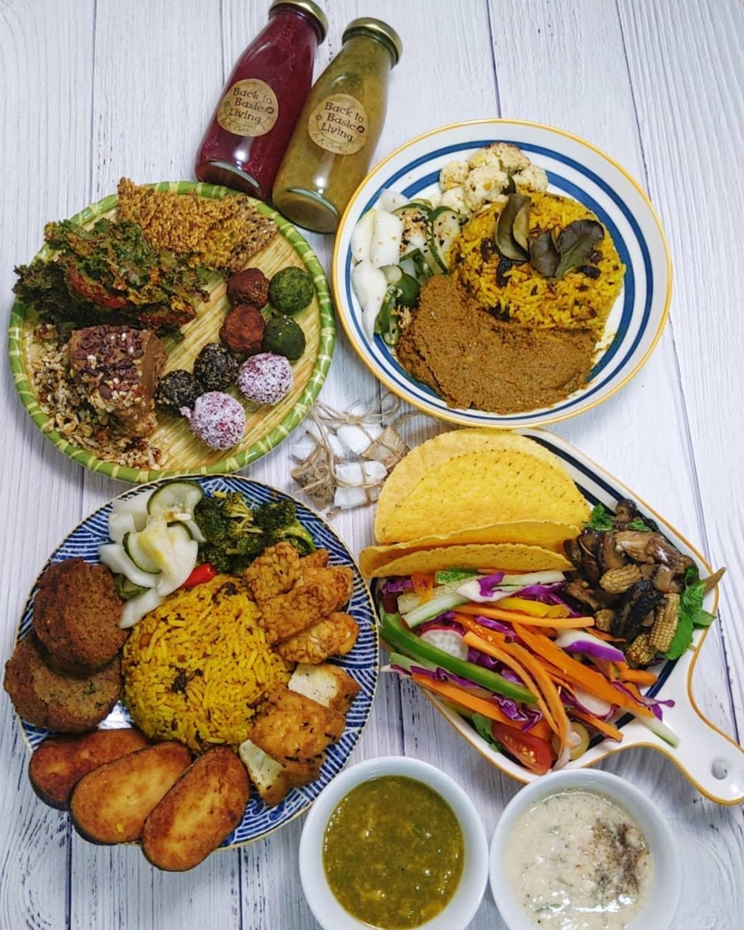 vegetarian food delivery - btb living