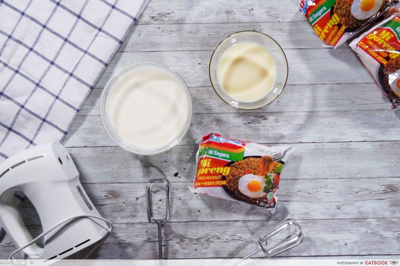 3-Course Indomie Meal - ice cream