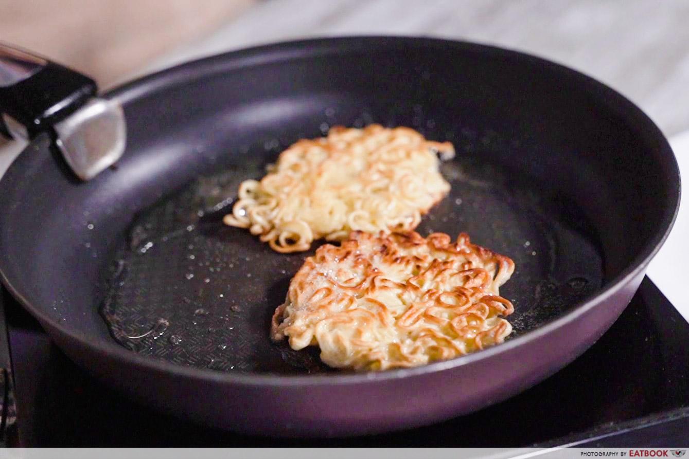 3-Course Indomie Meal - noodle bun