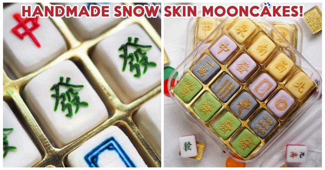 Ah Kiat mahjong snowskin mooncake