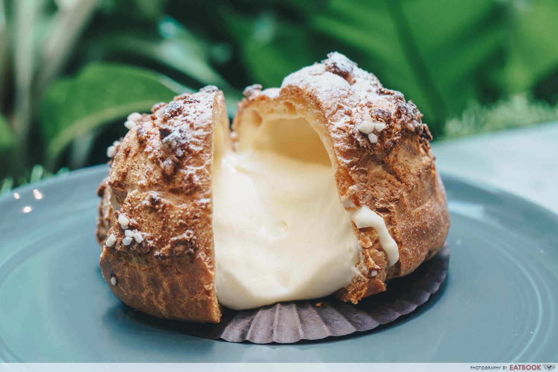 Baristart cream puff