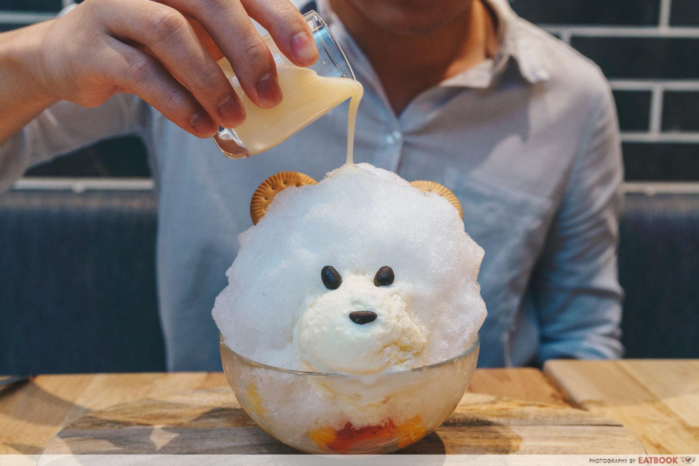 shaved ice bear