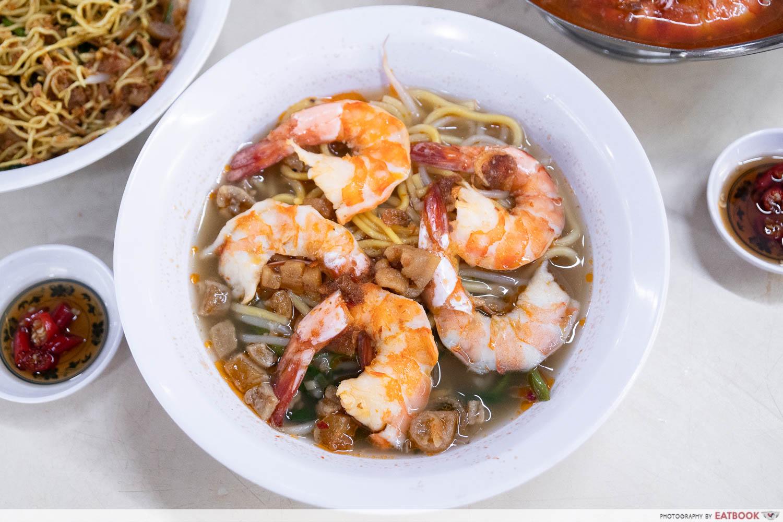 wah kee small prawn noodle