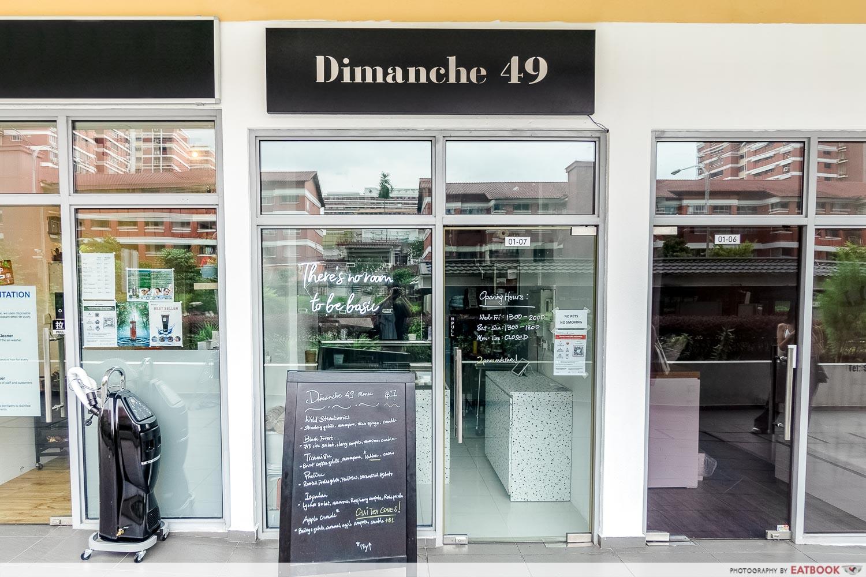 Dimanche 49 - Storefront
