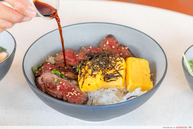 Donburi No Tatsujin - truffle shoyu sauce