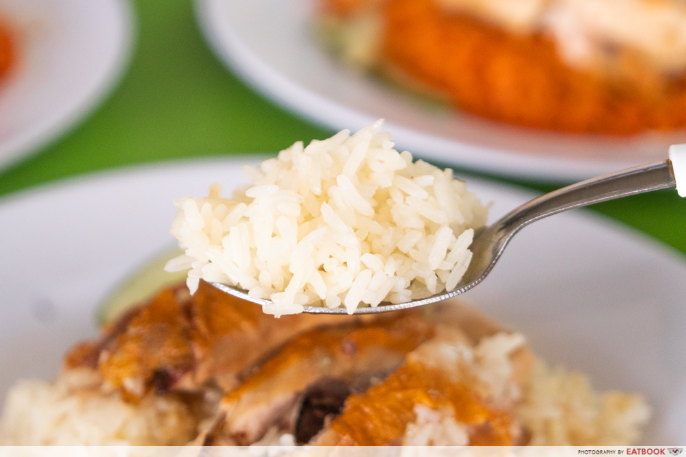 Jefri The Original Botak Chicken Rice - nasi ayam rice