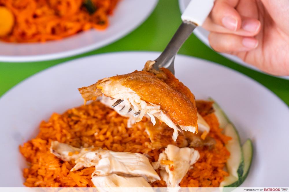 Jefri The Original Botak Chicken Rice - nasi goreng ayam chicken
