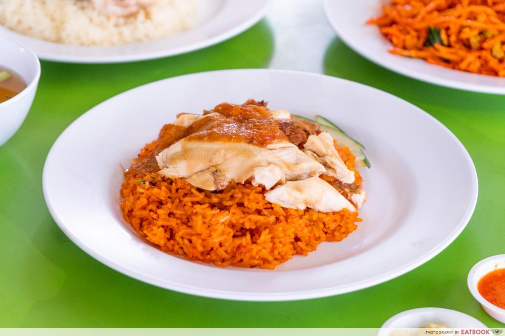 Jefri The Original Botak Chicken Rice - nasi goreng ayam