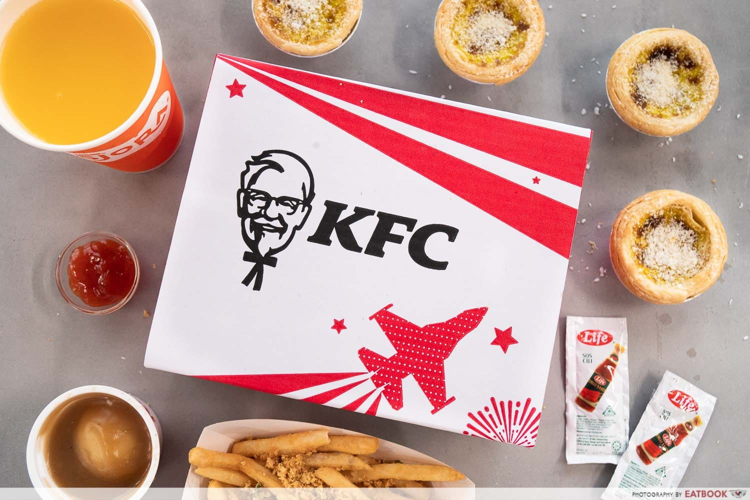 KFC Cereal Chicken - Cereal Box