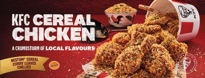 KFC Cereal Chicken - Poster