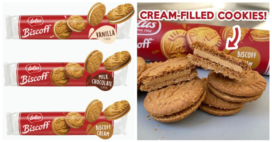 Lotus Biscoff Sandwich Cream Cookie - Feature Image
