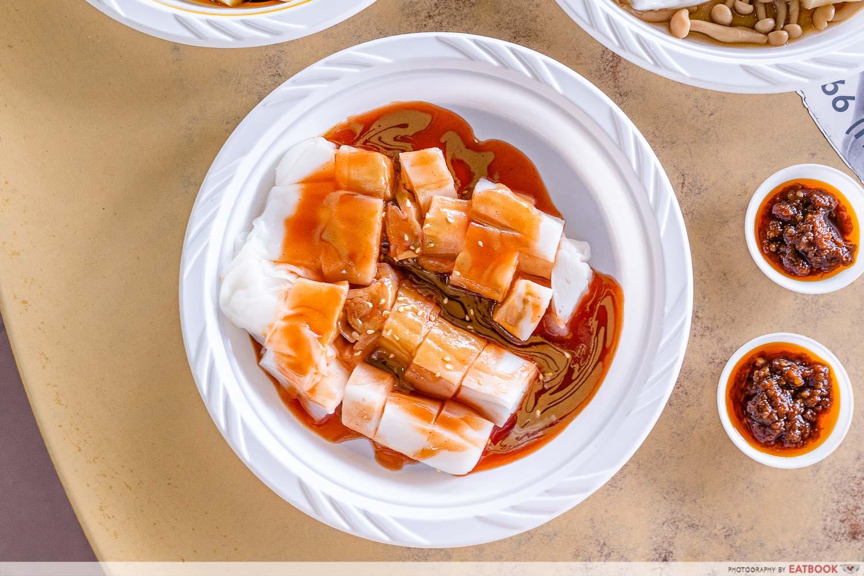 cheong fan paradise sesame sauce cheong fan