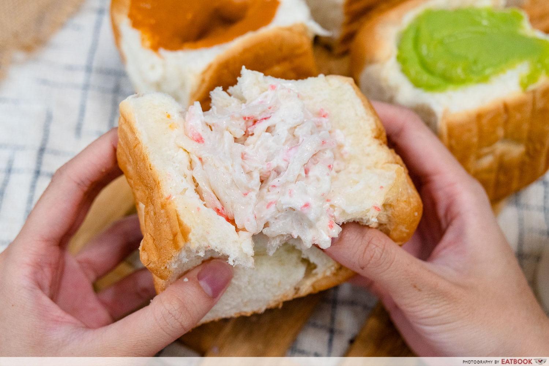 Tearuk Dessert Bar - Crab Mayo Bun